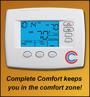Thermostat Controls-Complete Comfort Heating Cooling-Macomb, MI